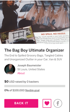 The Bag Boy Ultimate Organizer & Bag Handler