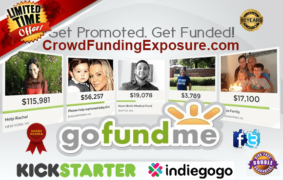 Crowd Funding Campaign Promotion, CrowdFunding Advertising, Internet Marketing, Social Media Promotion, Twitter Promotion, Facebook Marketing & News Release Promotion