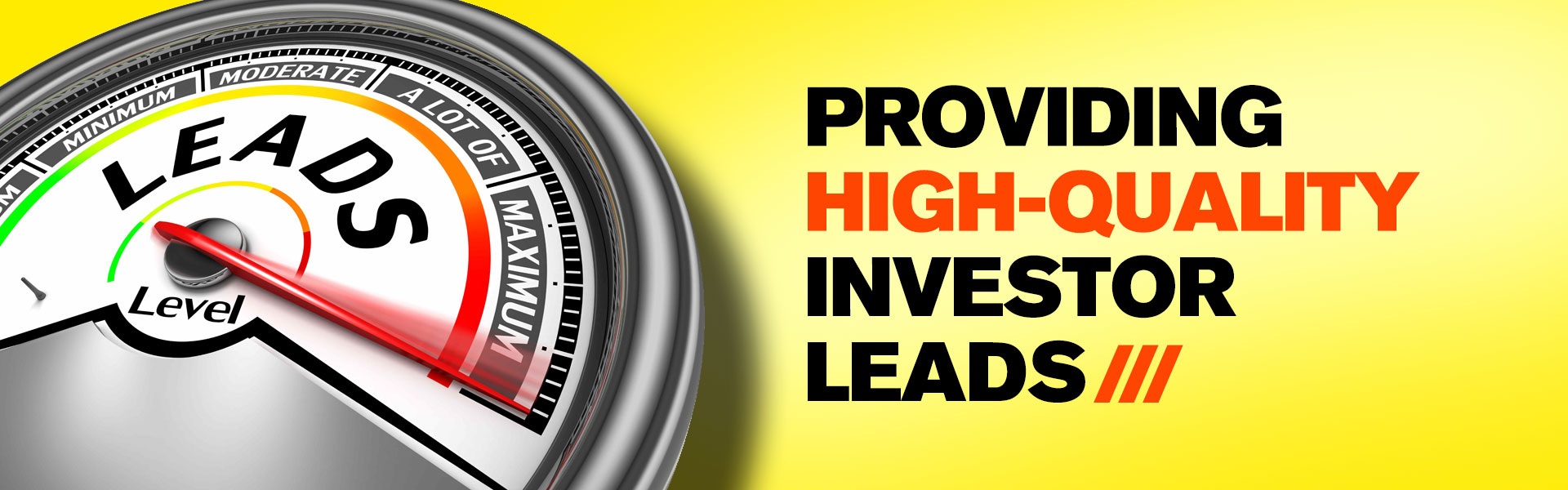 Stock Investor Leads High Networth
