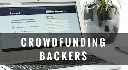 10,000+ Backer Influencer Donor Angel Investor List