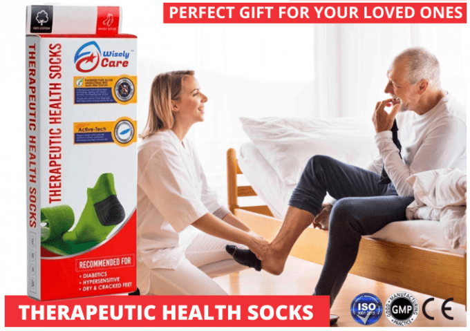 WiselyCare Health Socks Foot Care for men and women